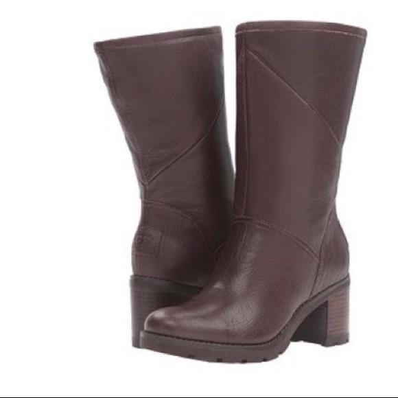 2093f9739bc NIB UGG Jessia Boots in Stout, Size 10 NWT